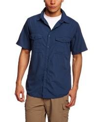 Chemise à manches courtes bleu marine Craghoppers