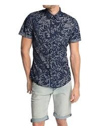 Chemise à manches courtes bleu marine edc by Esprit
