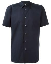 Chemise à manches courtes bleu marine Paul Smith