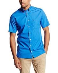 Chemise à manches courtes bleue Tommy Hilfiger