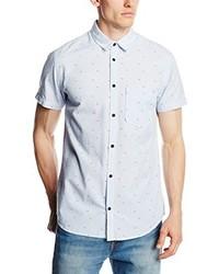 Chemise à manches courtes grise Jack & Jones