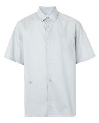 Chemise à manches courtes grise Kenzo