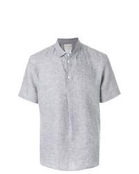 Chemise à manches courtes grise Stephan Schneider