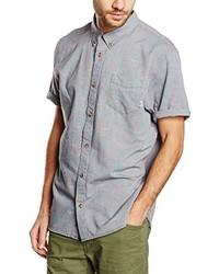 Chemise à manches courtes grise Vans