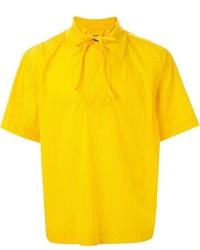 Chemise à manches courtes jaune Craig Green