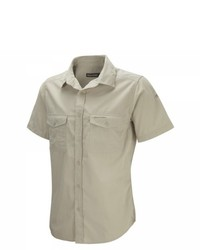 Chemise à manches courtes marron clair Craghoppers