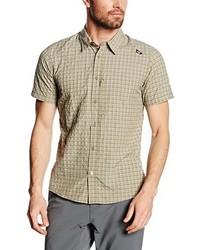 Chemise à manches courtes marron clair Millet