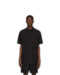 Chemise à manches courtes noire 1017 Alyx 9Sm