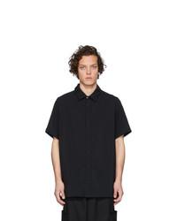 Chemise à manches courtes noire Goodfight