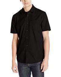 Chemise à manches courtes noire Volcom