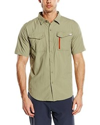 Chemise à manches courtes olive The North Face