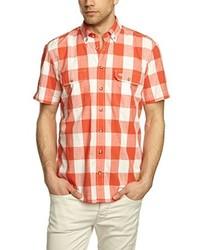 Chemise à manches courtes orange camel active