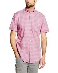 Chemise à manches courtes rose Gant