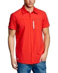 Chemise à manches courtes rouge 2117 of Sweden