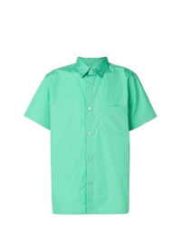 Chemise à manches courtes vert menthe A.P.C.