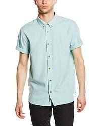 Chemise à manches courtes vert menthe Vans
