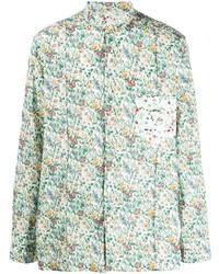 Chemise à manches longues à fleurs multicolore Paul Smith