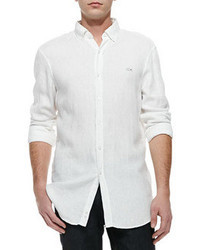 Chemise a manches longues blanche original 360468