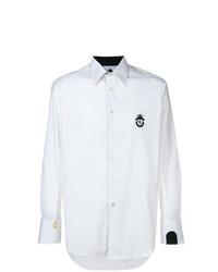 Chemise à manches longues blanche Billionaire