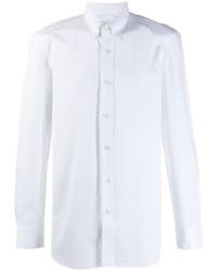 Chemise à manches longues blanche Boglioli