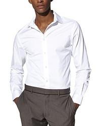 Chemise à manches longues blanche Celio