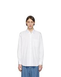 Chemise à manches longues blanche Comme Des Garcons SHIRT