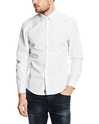 Chemise à manches longues blanche Esprit