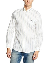 Chemise à manches longues blanche Gant