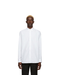 Chemise à manches longues blanche Givenchy