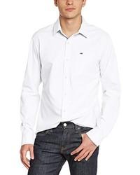 Chemise à manches longues blanche Hilfiger Denim