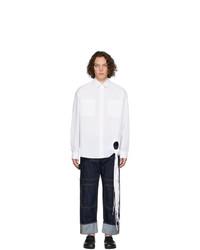 Chemise à manches longues blanche JW Anderson