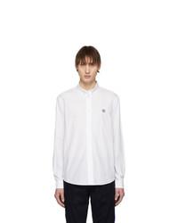 Chemise à manches longues blanche Kenzo