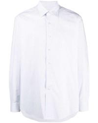 Chemise à manches longues blanche Lanvin