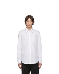 Chemise à manches longues blanche Maison Margiela