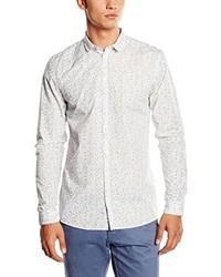 Chemise à manches longues blanche Minimum