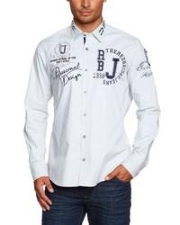 Chemise à manches longues blanche Redbridge