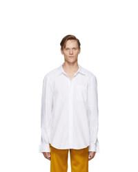 Chemise à manches longues blanche Sies Marjan