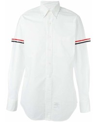 Chemise à manches longues blanche Thom Browne