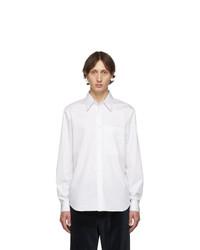Chemise à manches longues blanche Tibi