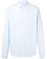Chemise à manches longues bleu clair Ami