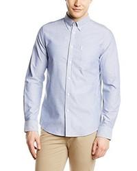 Chemise à manches longues bleu clair Ben Sherman
