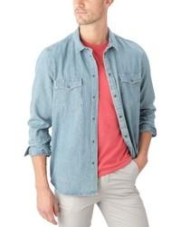 Chemise à manches longues bleu clair Cheap Monday