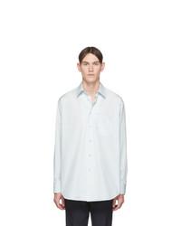 Chemise à manches longues bleu clair Jil Sander
