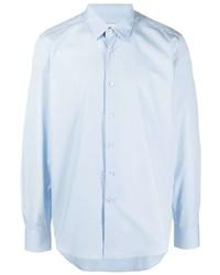 Chemise à manches longues bleu clair Lanvin