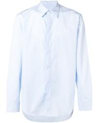 Chemise à manches longues bleu clair Maison Margiela
