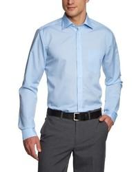 Chemise à manches longues bleu clair Seidensticker