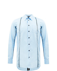 Chemise à manches longues bleu clair Yang Li