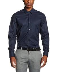 Chemise à manches longues bleu marine Antony Morato