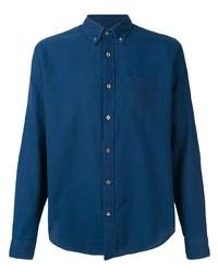 Chemise à manches longues bleu marine Closed