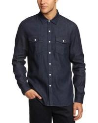 Chemise à manches longues bleu marine Levi's